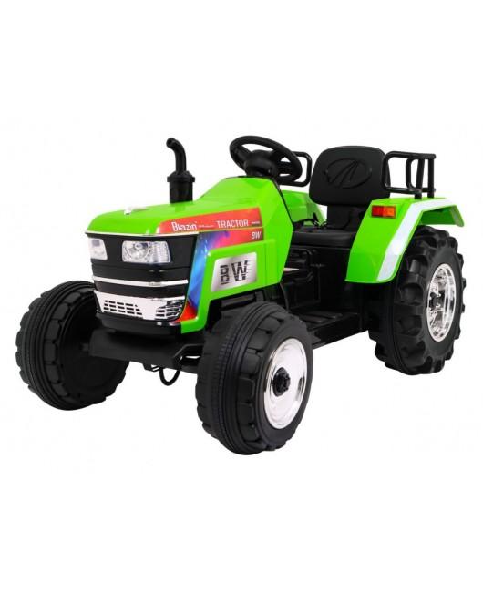 Elektrický traktor Blazin BW zelený